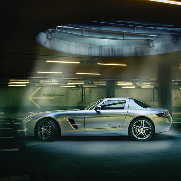 Werbefotografie AMG SLS