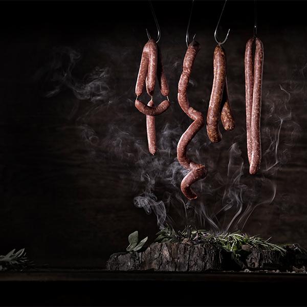 Foodfotografie Wurst Raeuchern